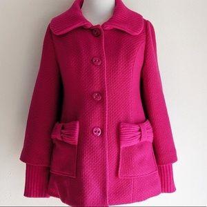 Anthropologie Tabitha wool coat